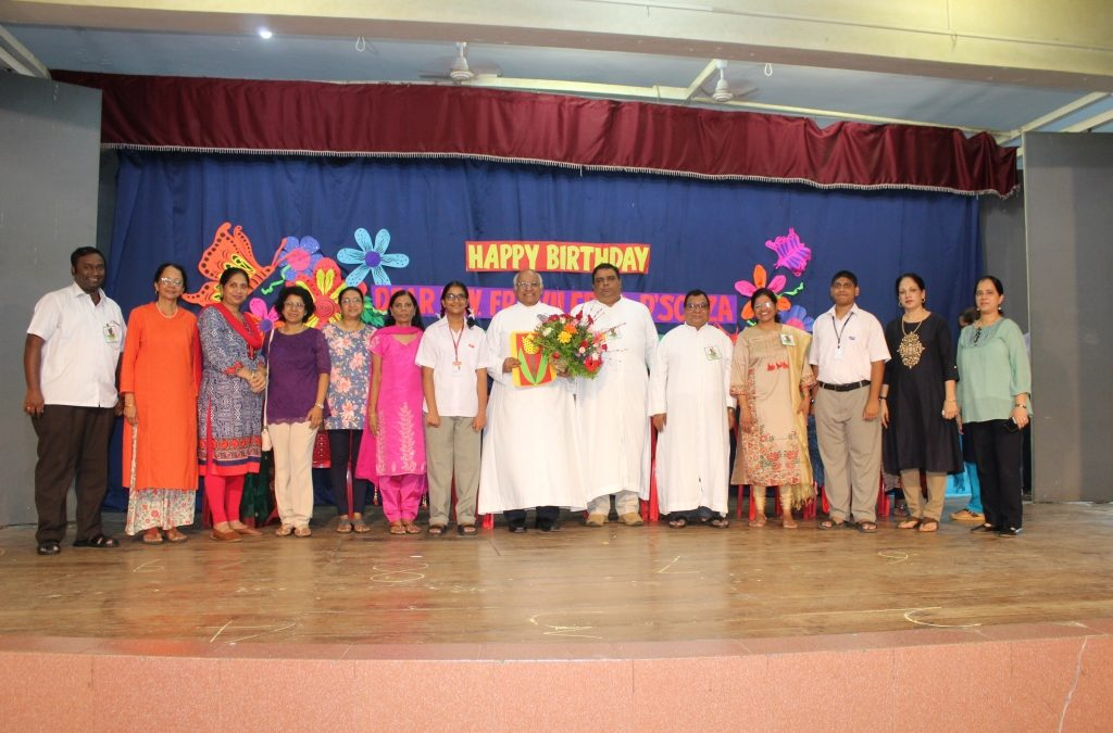 Fr Wilfred's Birthday Celebration