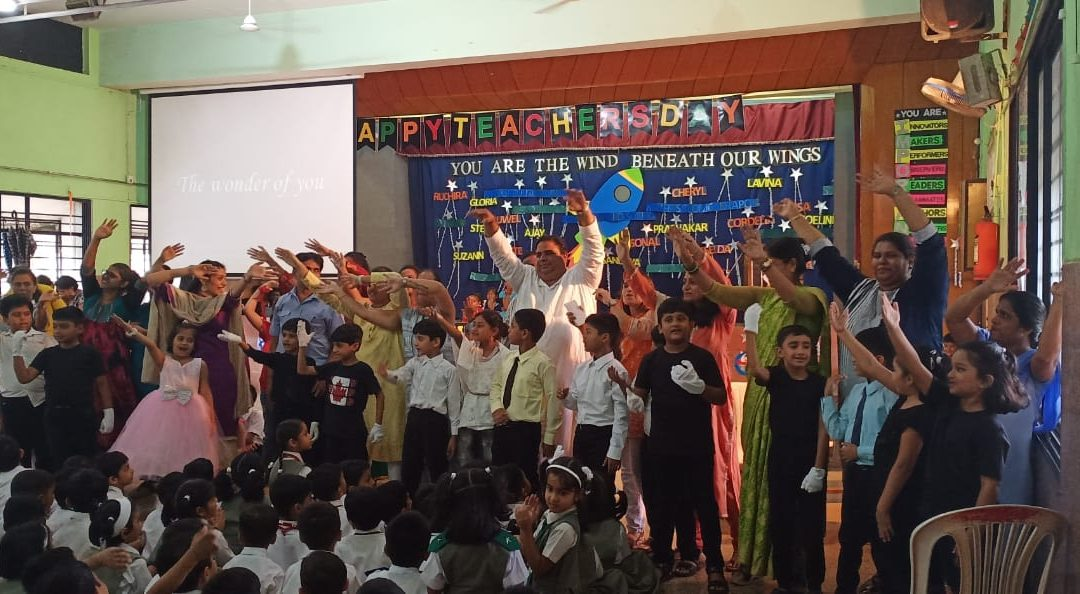 Assembly of class III A   Theme: Teachers Day