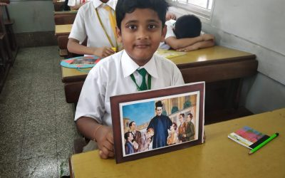 Don Bosco Photo Frame Making Competition