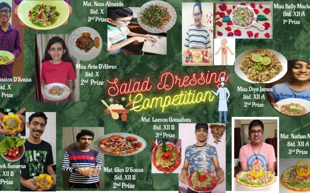 A Salad Dressing Competition  By NIOS Students Don Bosco Borivli